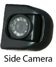 "|CAM21| Sharp 1/4"" CCD Side Camera For Looking back - Available in Left Hand and Right Hand side versions."