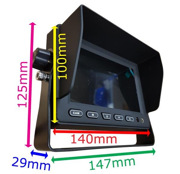 Monitor Dimensions